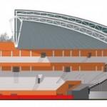 arène salle polyvalente couverture