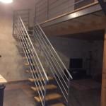 escalier duplex échoppe bordeaux