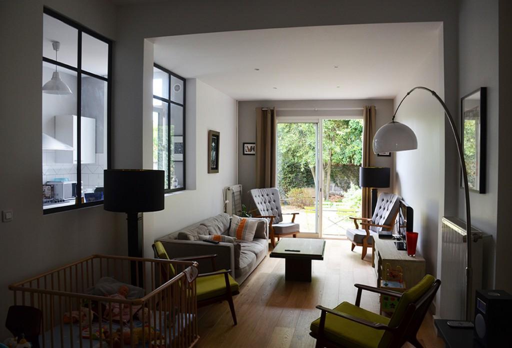 Maison hoche bordeaux caud ran quartz atelier d 39 architecture - Maison de l architecture bordeaux ...